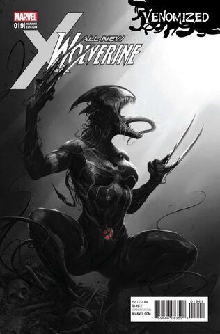 File:All-New Wolverine Vol 1 19 Black & White Venomized Variant.jpg
