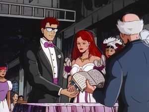 Cyclops and Jean Wedding