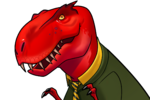 Devil Dinosaur (Earth-TRN562) from Marvel Avengers Academy 008
