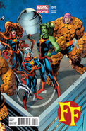FF Vol 2 1 Mark Bagley Connecting Variant