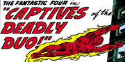 Fantastic Four Vol 1 6 Part 1 Title