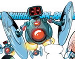 Humanoid Experimental Robot B-Type Integrated Electronics (Earth-TRN246) from Deadpool Killustrated Vol 1 1