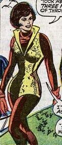 Janet Van Dyne (Earth-616) in her sixth Wasp costume from Avengers Vol 1 45 001