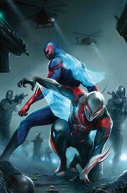 Spider-Man 2099 Vol 3 24 Textless