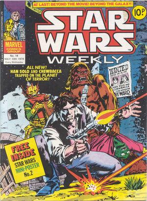 Star Wars Weekly (UK) Vol 1 14