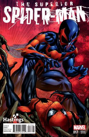 File:Superior Spider-Man Vol 1 17 Mckone Hastings Variant.jpg