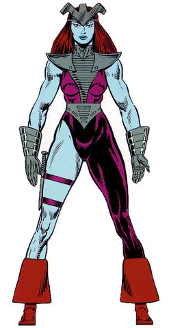 Andromeda Attumasen (Earth-616) from Official Handbook of the Marvel Universe Master Edition Vol 1 12 0001
