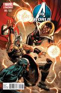 Avengers World Vol 1 5 Captain Amercia Team-Up Variant