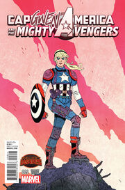 Captain America and the Mighty Avengers Vol 1 9 Gwen Variant