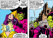 Deviant Skrulls from Fantastic Four Vol 1 174