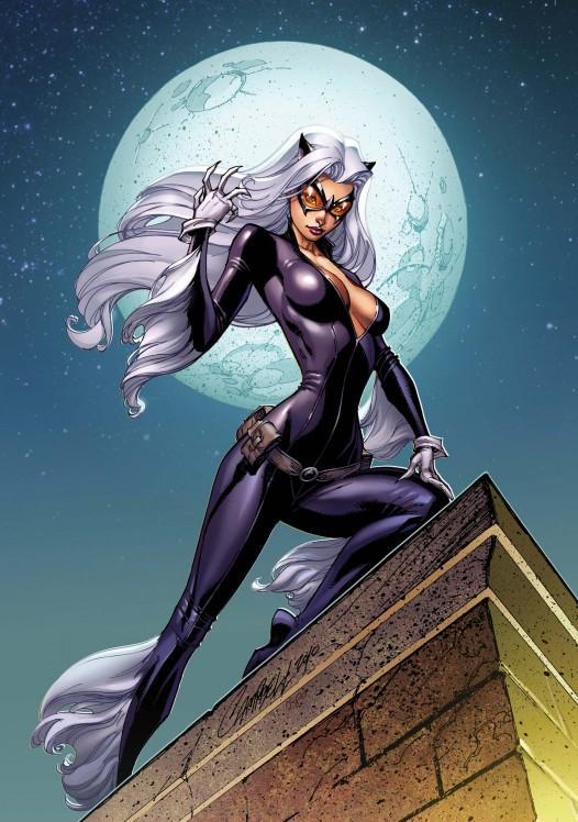 Image result for black cat comics