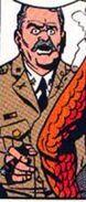 Lieutenant General Fredricks (Earth-616) from X-Men Vol 1 2 0002