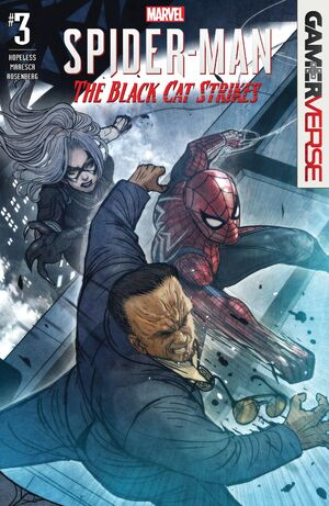Marvel's Spider-Man The Black Cat Strikes Vol 1 3