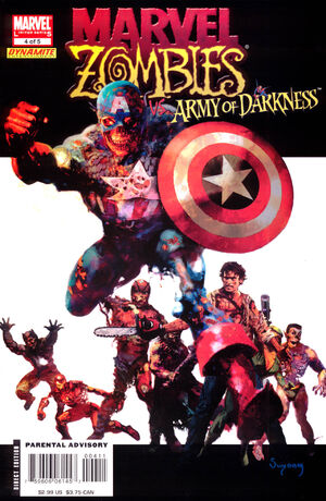 Marvel Zombies Vs. Army of Darkness Vol 1 4