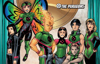 Paragons Squad (Earth-616) from New X-Men Academy X Yearbook Vol 1 1 0001