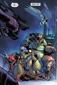 Project Brute Force (Earth-616) from Weapon Plus World War IV Vol 1 1 001