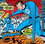 Reed Richards (Earth-616) possessed by the Overmind from Fantastic Four Vol 1 115