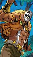 Sergei Bushman (Warp World) (Earth-616) from Secret Warps Ghost Panther Annual Vol 1 1 002