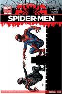 Spider-Men Vol 1 4 Deodato Variant Textless