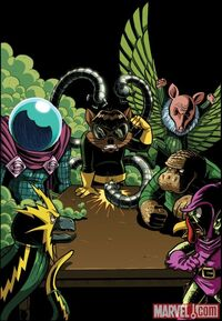 Swinester Six (Earth-25) from Spider-Ham 25th Anniversary Special Vol 1 1 001