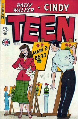 Teen Comics Vol 1 34