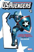 U.S.Avengers Vol 1 1 Delaware Variant