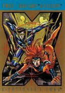 Uncanny X-Men Vol 1 296 Trading card