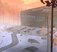 Alchemax (Earth-TRN700) from Spider-Man Into the Spider-Verse