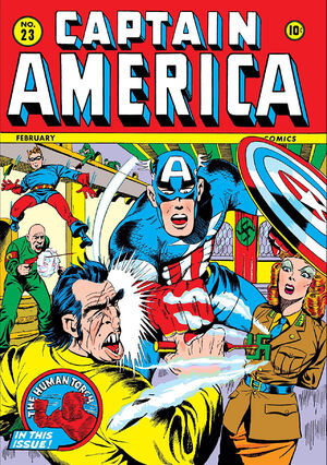 Captain America Comics Vol 1 23