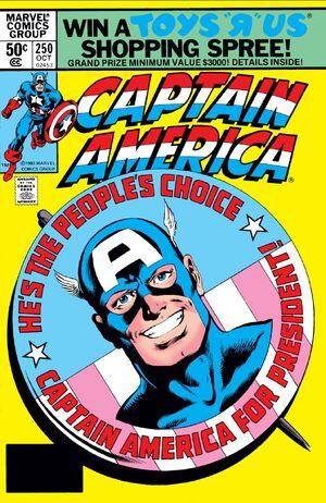 Captain America Vol 1 250