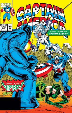 Captain America Vol 1 419