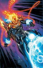 Cosmic Ghost Rider Vol 1 5 Campbell Variant Textless
