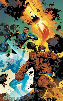 Fantastic Four Vol 6 1 Lupacchino Variant Textless