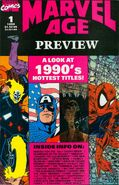 Marvel Age Preview Vol 1 1