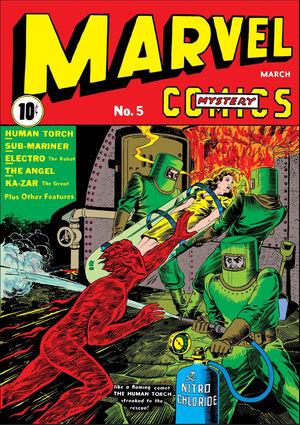 Marvel Mystery Comics Vol 1 5