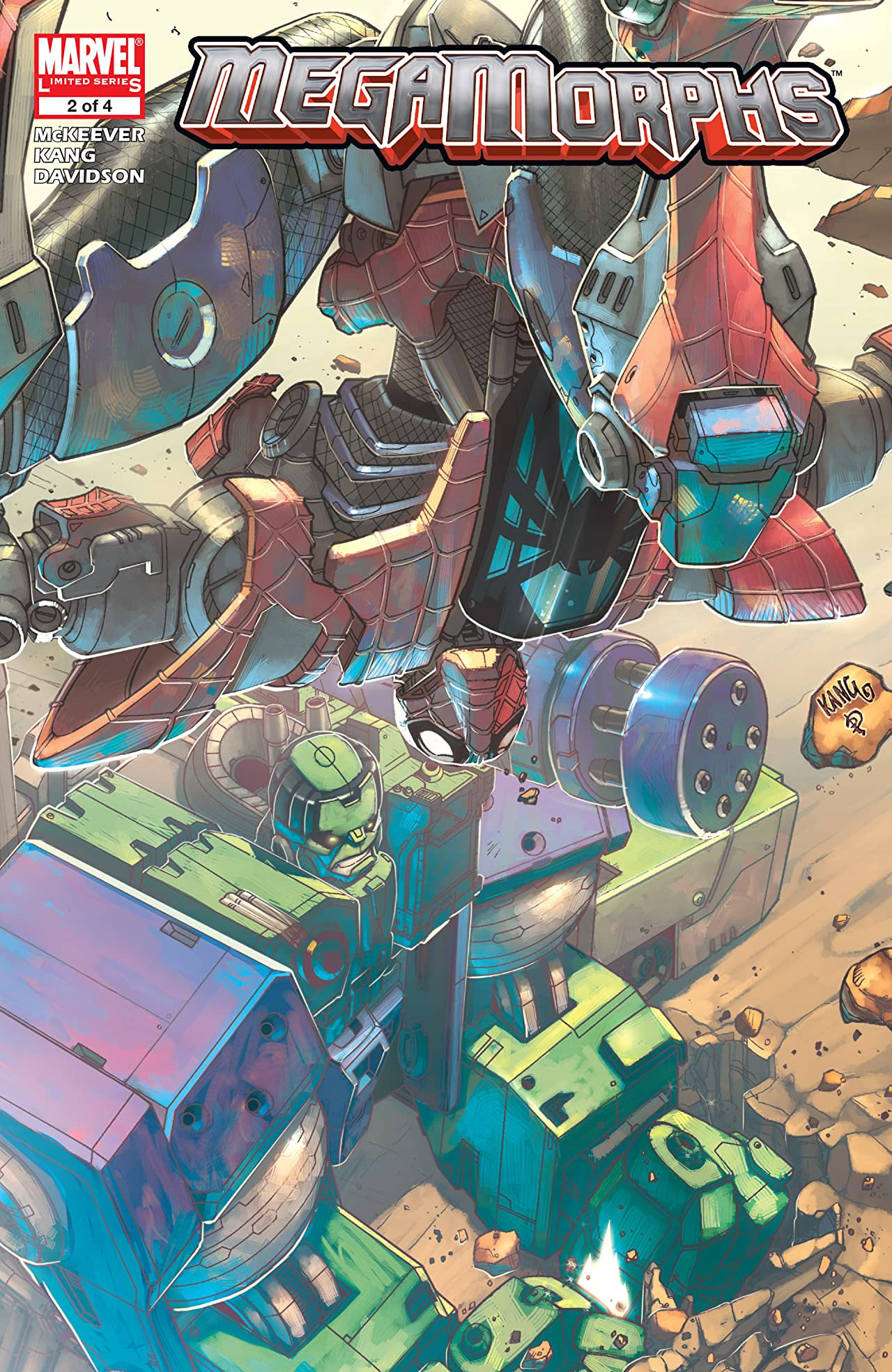 Mega Morphs Vol 1 2   Marvel Database   FANDOM powered by Wikia