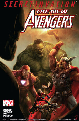 New Avengers Vol 1 40