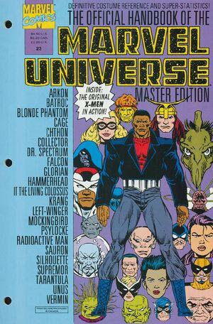 Official Handbook of the Marvel Universe Master Edition Vol 1 23
