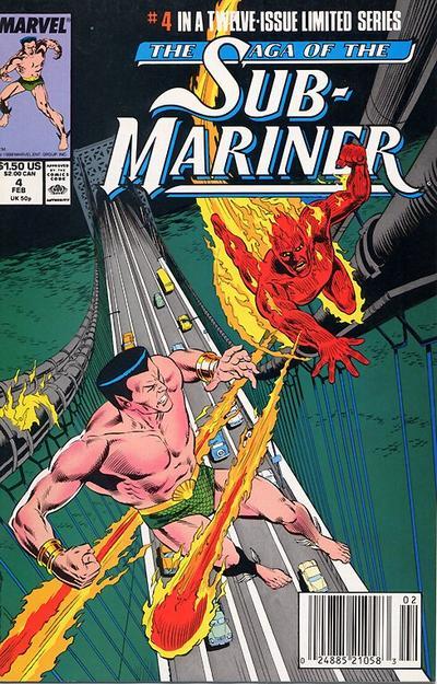 Saga of the Sub-Mariner Vol 1 4