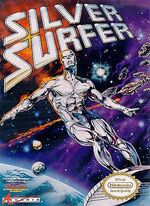 Silver Surfer video game cover
