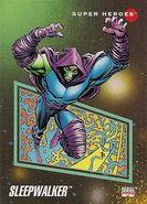 Sleepwalker (Earth-616) from Marvel Universe Cards Series III 0001