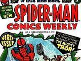 Spider-Man Comics Weekly Vol 1 1