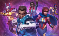 Ultimates (Earth-TRN012) from Marvel Future Fight