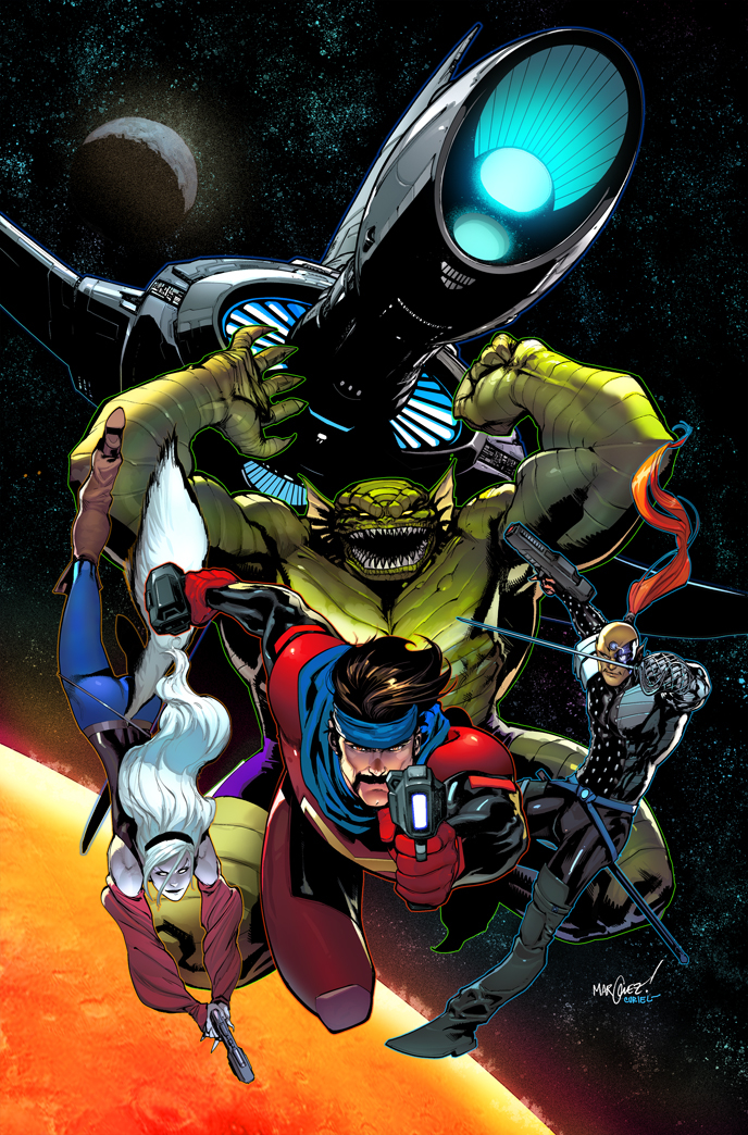 Image result for marvel starjammers""