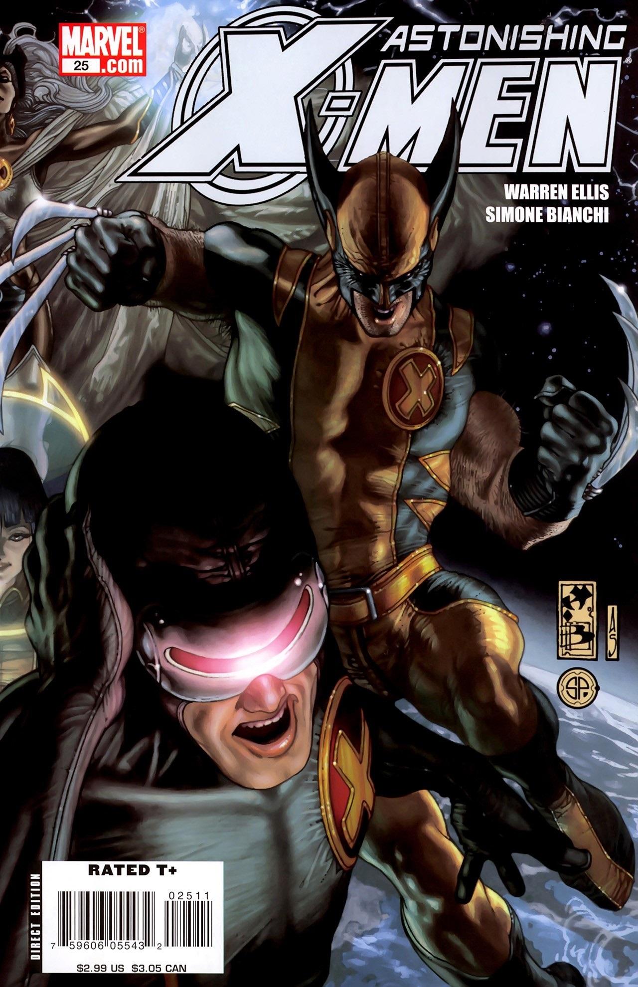 Astonishing X Men Vol 3 25