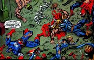 Avengers (Earth-5700) and Fantastic Four (Earth-5700) from Weapon X Days of Future Now Vol 1 4 0001