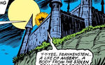 Castle Frankenstein from Invaders Vol 1 31 0001