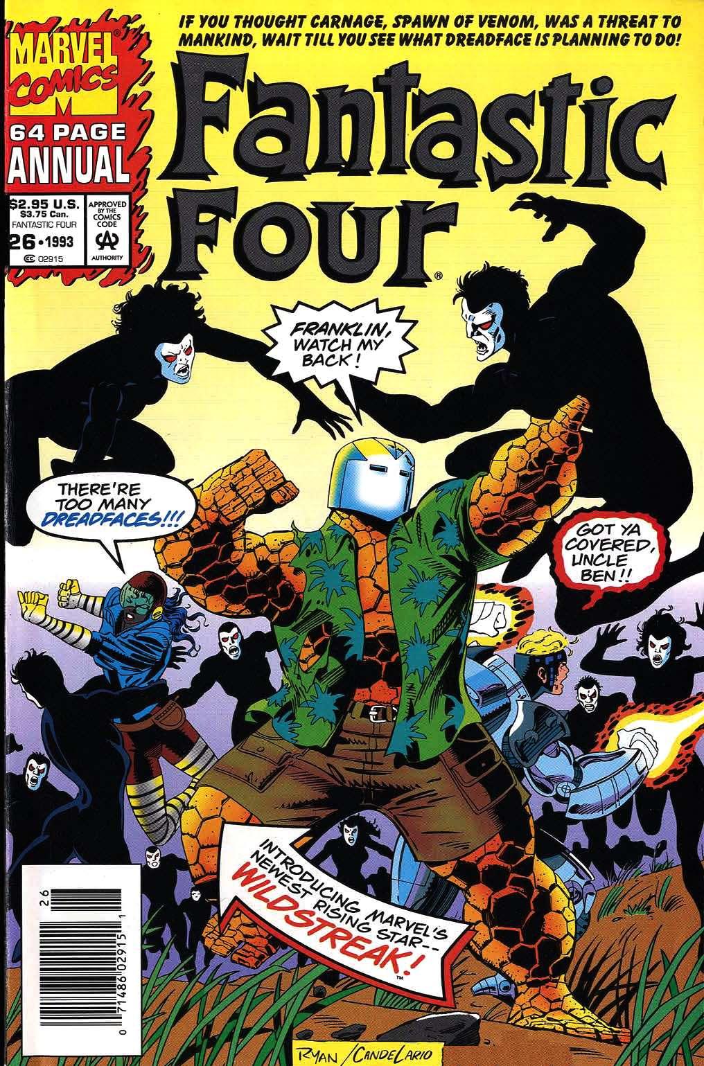 Fantastic Four Annual Vol 1 26