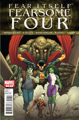 Fear Itself: Fearsome Four Vol 1 1