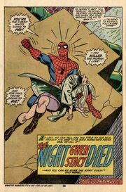 Gwen-stacy died